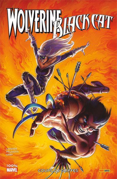 Couverture wolverine & black cat ; coups de griffes
