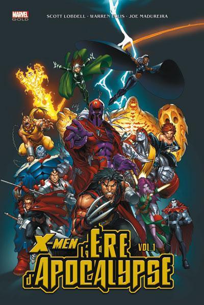Couverture X-Men - l'ère d'apocalypse tome 1