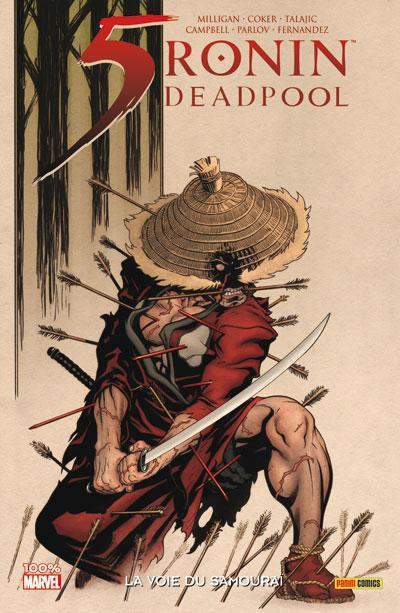 Couverture 5 Ronin ; la voie du samouraï