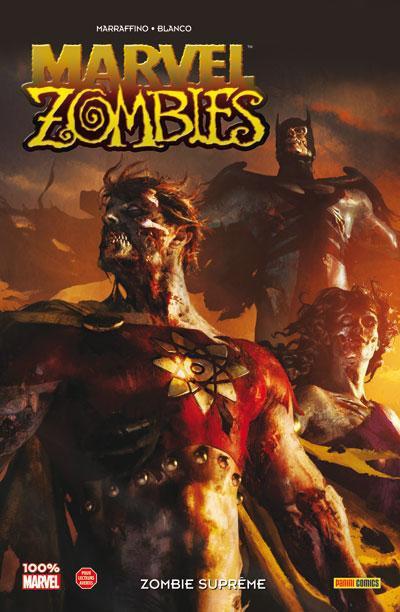 Couverture Marvel zombies T.8 - zombie suprême