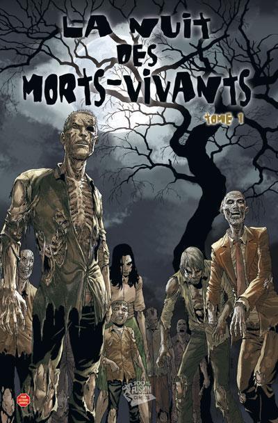 Couverture la nuit des morts-vivants tome 1