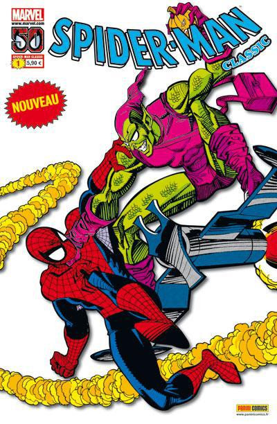 Couverture Spider-man classic tome 1
