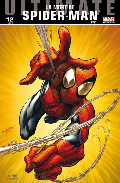 Couverture ultimate spider-man tome 12 - la mort de spider-man