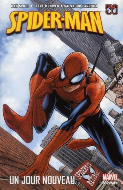 Couverture Spider-man - un jour nouveau