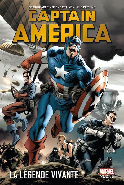 Couverture Captain America tome 2 - la légende vivante