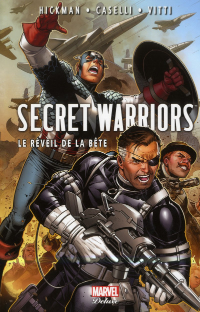 Couverture secret warriors tome 2 - le réveil de la bête