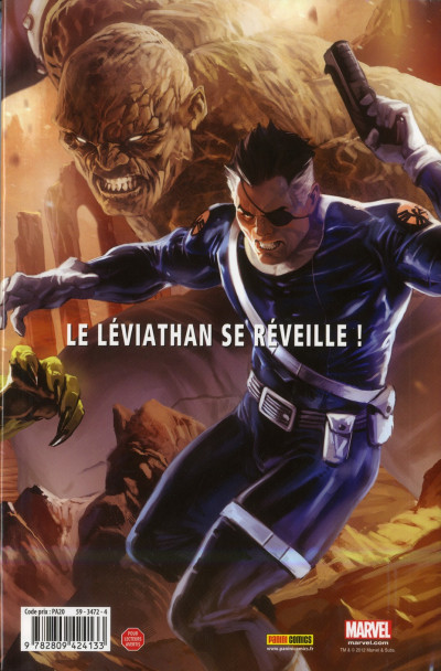 Dos secret warriors tome 2 - le réveil de la bête