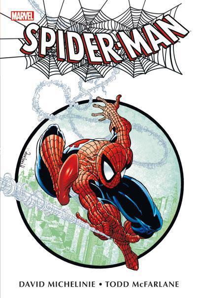 Couverture Spider-man ; par Mc farlane ; intégrale