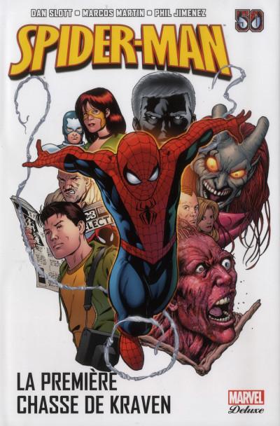 Couverture Spider-man - la première chasse de Kraven
