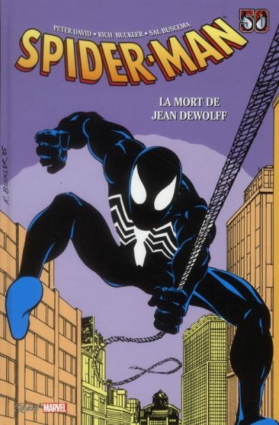 Couverture Spider-man - la mort de Jean Dewolff