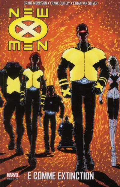 Couverture new X-men tome 1 - e comme extinction