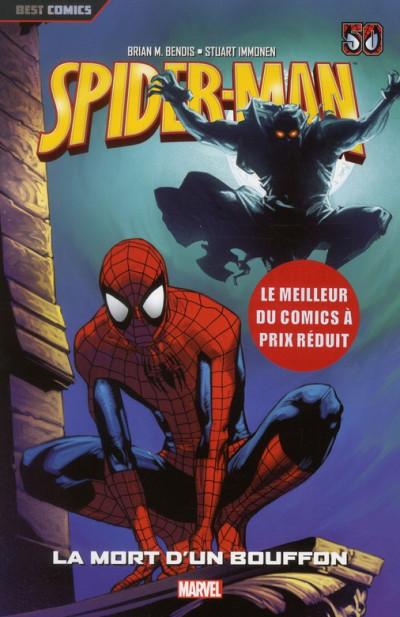 Couverture Spider-man tome 2 - la mort d'un bouffon