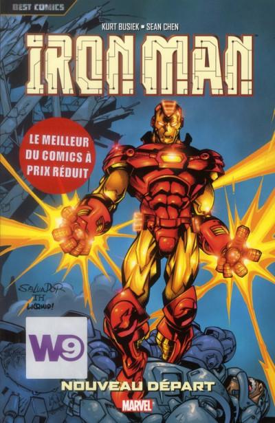 Couverture Iron man tome 2 - nouveau départ