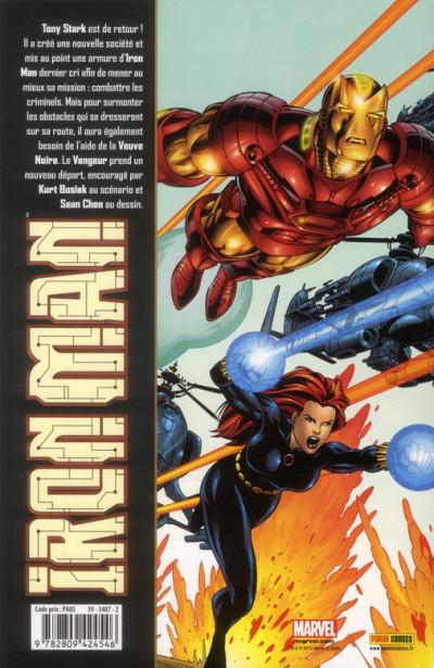 Dos Iron man tome 2 - nouveau départ