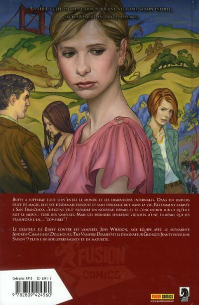 Dos Buffy contre les vampires - saison 9 tome 1