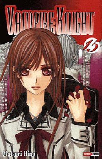 Couverture vampire knight tome 15