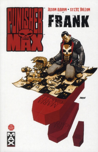 Couverture Punisher max tome 4 - Frank