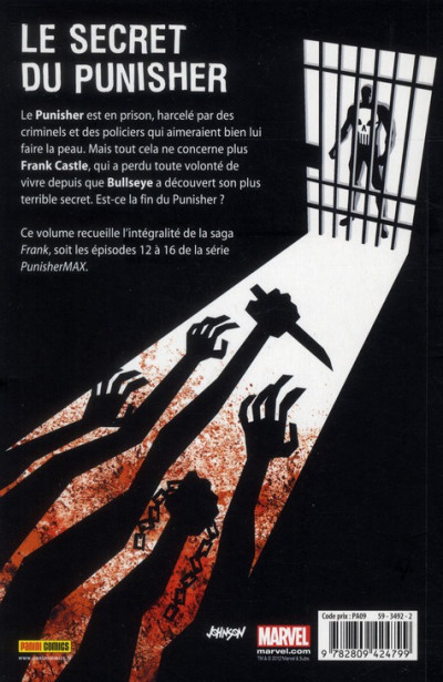Dos Punisher max tome 4 - Frank