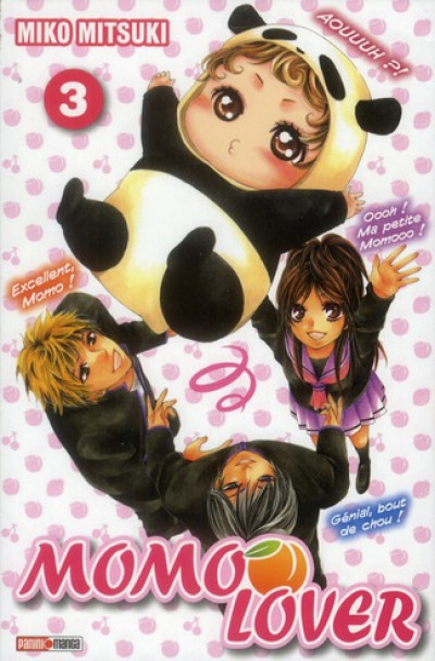 Couverture momo lover tome 3