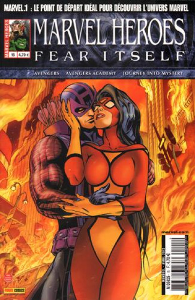 Couverture marvel heroes tome 15 - fear itself