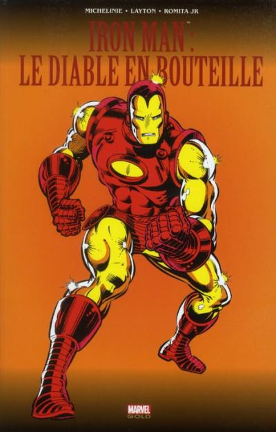 Couverture Iron Man ; le diable en bouteille