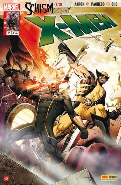 Couverture X-Men V2 N.15 ; schisme 1/3