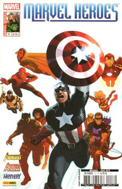 Couverture marvel heroes 17