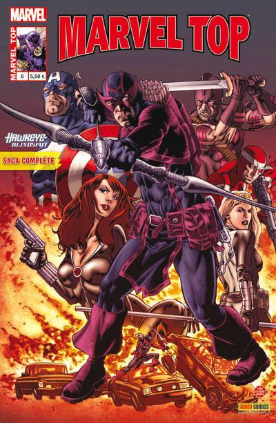 Couverture MARVEL TOP N.6
