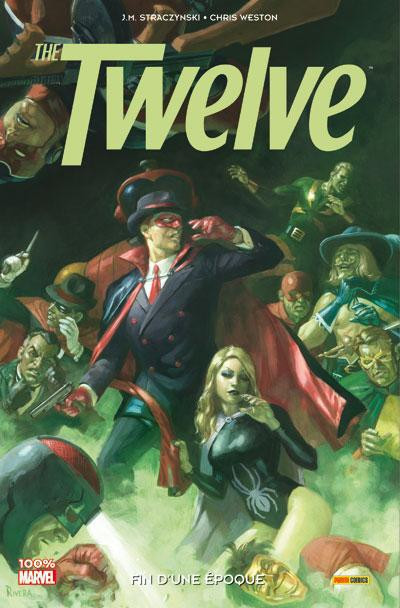 Couverture the twelve tome 2 - fin d'une époque