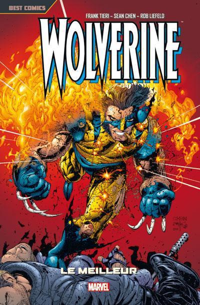 Couverture Wolverine tome 2 - le meilleur