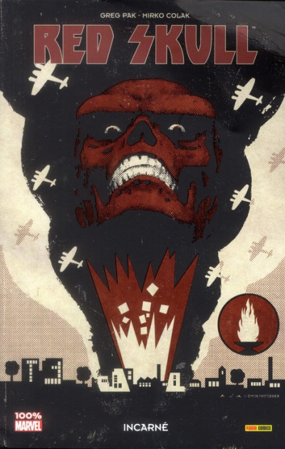 Couverture red skull ; incarné