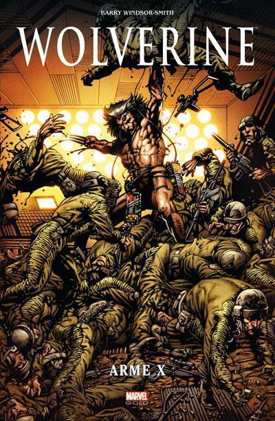 Couverture Wolverine ; arme X