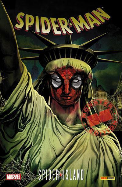 Couverture Spider-man ; Spider-island