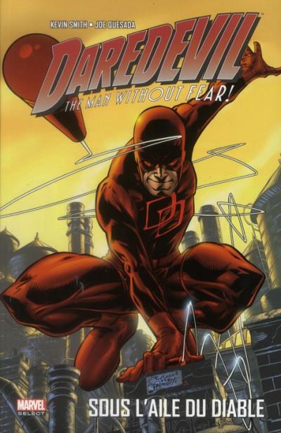 Couverture Daredevil ; sous l'aile du diable