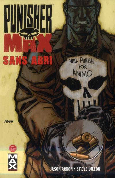 Couverture Punisher Max T.5 - sans abri