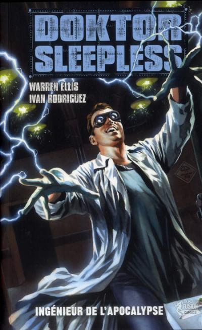 Couverture doktor Sleepless tome 2 - ingénieur de l'apocalypse