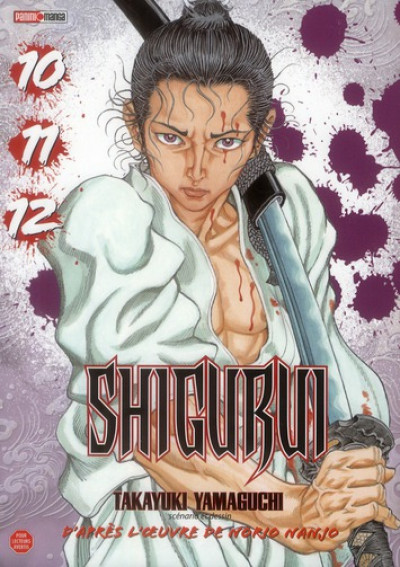 Couverture Shigurui - intégrale - tome 10 à tome 12