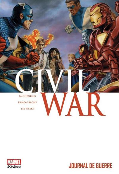 Couverture Civil war tome 4