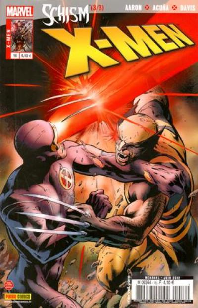 Couverture X-Men V2 N.16 ; schisme 2/4