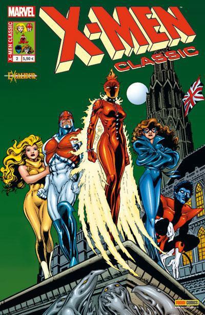 Couverture X-Men classic N.2