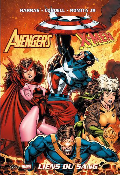 Couverture Avengers / X-men ; les liens du sang