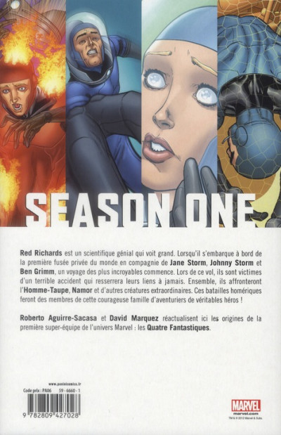 Dos fantastic four season 1