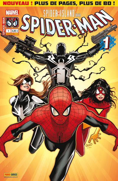 Couverture Spider-man - Spider-Island tome 1 (couv b)
