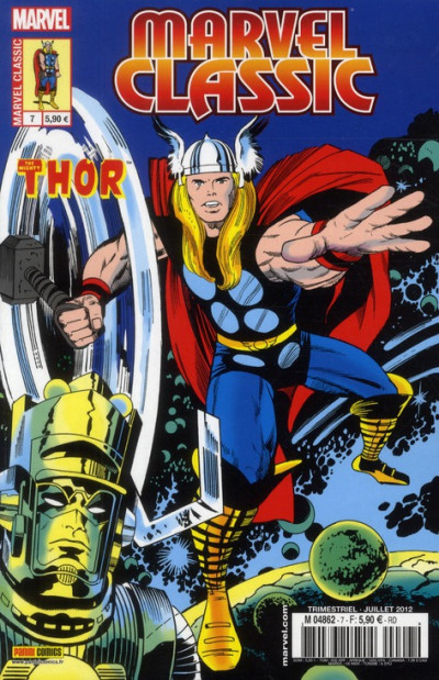 Couverture Marvel Classic N.7 ; Thor