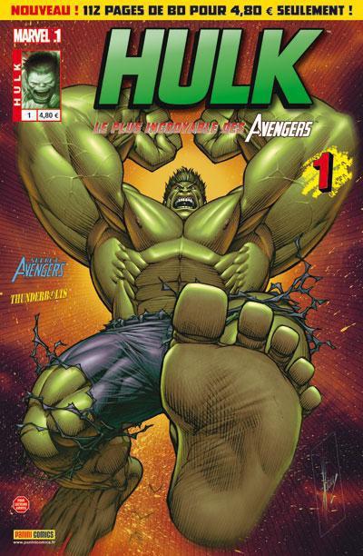 Couverture Hulk N.1