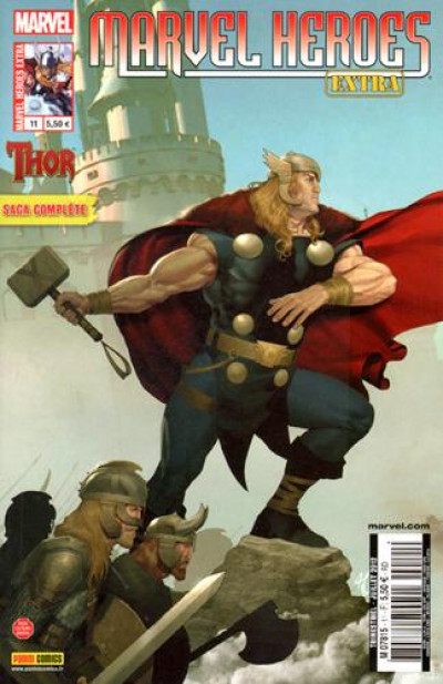 Couverture marvel heroes extra 11