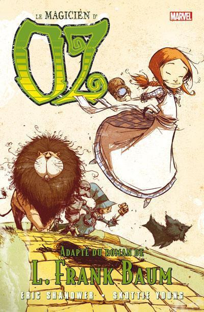 Couverture le magicien d'Oz tome 1