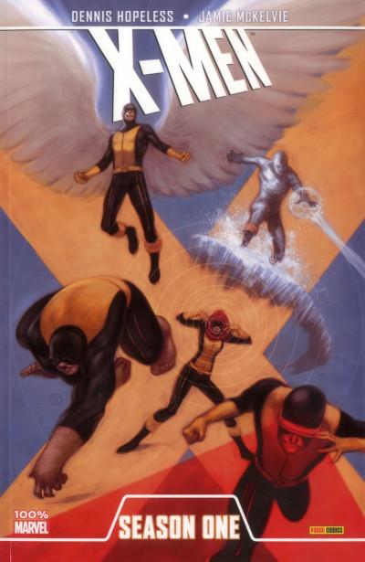 Couverture X-Men ; season one