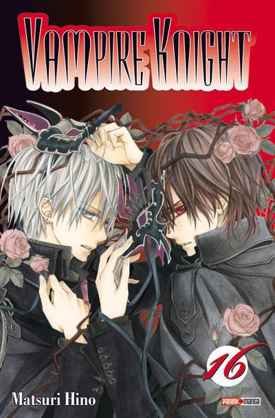 Couverture vampire knight tome 16