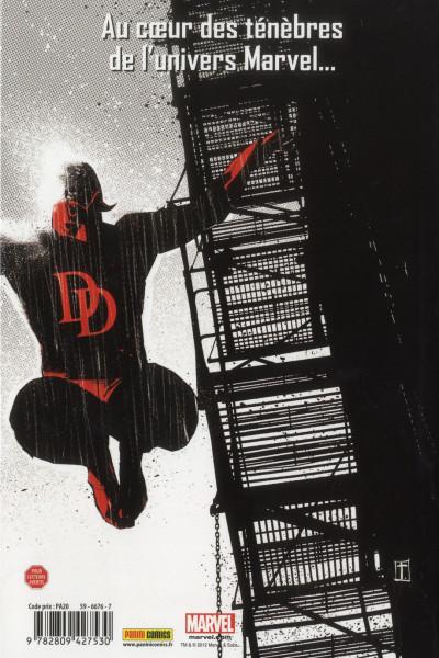 Dos Marvel noir - intégrale Deluxe tome 1 - les yeux sans visage